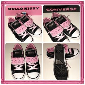 🆕Girls Converse Hello Kitty Chuck Taylor Sneakers